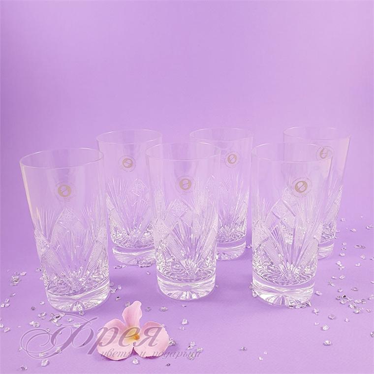 Кристални чаши за вода Зорница 320 мл