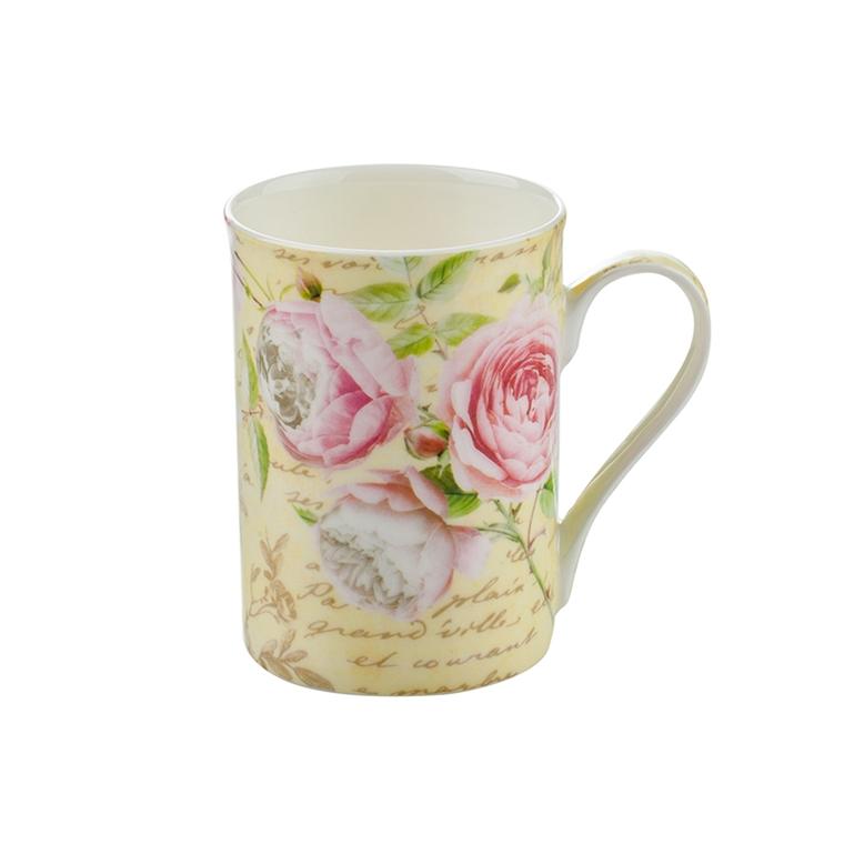 Порцеланова чаша класик - Роза
